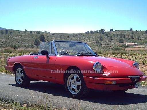 tabl n de anuncios alfa romeo spider clasico coches. Black Bedroom Furniture Sets. Home Design Ideas