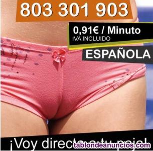Sexo por teléfono con española particular