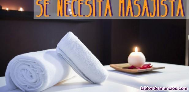 Se precisa masajista Tántrica