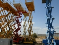 Plataformas elevadoras de tijera diesel haulotte h 12-15-18 sdx
