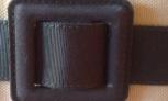Cinturon de tela de yves saint laurent