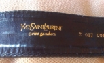 Fotos del anuncio: Cinturon de tela de yves saint laurent