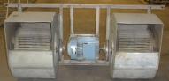 Extractor de aire industrial