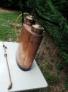 Sulfatadora antigua de cobre