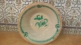 Vendo lebrillo antiguo de ceramica granadina 52 cm.