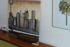 Fotos del anuncio: Cuadro pintura sobre lienzo