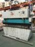Plegadora hidraulica ajial 2.500x65 tm.