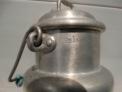 Fotos del anuncio: Antigua lechera metálica con asa de madera 1,5 litros