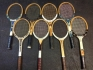 Raquetas tenis de madera