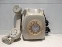 Fotos del anuncio: Teléfono rueda gris con números dorados