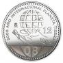 Moneda conmemorativa 12 euros 2008.