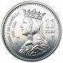 Moneda conmemorativa 12 euros 2004.