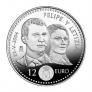Moneda conmemorativa 12 euros 2004 (boda
