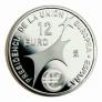 Moneda conmemorativa 12 euros 2002.