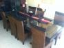 Mesa china con 8 sillas