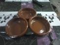Cazuelas de barro (20 y 22 cm)
