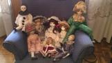 Muñecas antiguas de porcelana