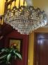 Vendo lampara lagrimas cristal strass y dos apliques haciendo juego