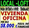 Local adaptado a LOFT y oficina/taller/Venta Articulos Publicitarios en Internet