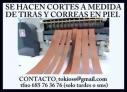 Fotos del anuncio: Se hacen cortes de tiras y correas en piel. También taller trabajos en cuero.