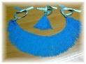 Vendo flecos azules para gaita