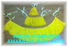 Fotos del anuncio: Vendo flecos completos amarillos para gaita