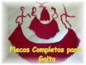 Fotos del anuncio: Vendo flecos rojos completos para gaita