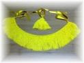 Fotos del anuncio: Vendo flecos amarillos para ronco de gaita