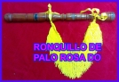 Fotos del anuncio: Vendo ronquillo de palo rosa en do para gaita