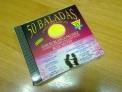 Fotos del anuncio: Vendo cds originales con 50 baladas inolvidables