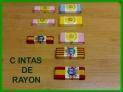 Vendo cintas de rayon para confeccion