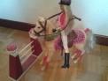 Barbie saltadora