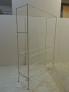 Fotos del anuncio: Estanteria minimalista en blanco, baldas cristal trasparente