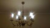 Fotos del anuncio: Lámpara salón de 6 brazos 30€