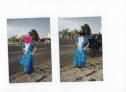 Fotos del anuncio: Traje de flamenca talla 40-42 + mantoncillo