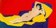 Cuadro al óleo Maja desnuda