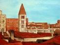 Fotos del anuncio: Cuadro al óleo Catedral y La Antigua-Valladolid