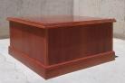 Mesa auxiliar de madera 86x86x45cm