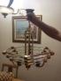 Fotos del anuncio: Lampara de cristal para techo habitacion