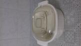 Fuente de microondas al vapor en baquelita