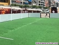 Pistas de fútbol 3x3 rigidas de (segunda mano)