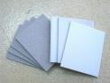 Esponjas abrasivas grano medio y grano fino.