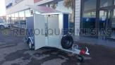 Remolque furgon personalizado aerodinamico en v
