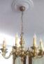 Fotos del anuncio: Lampara de comedor de bronce con 8 brazos