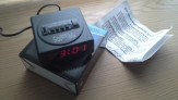 Despertador de alarma digital