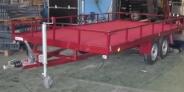 Remolque plataforma barandillas ref358