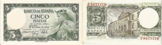 Fotos del anuncio: Billete de cinco pesetas alfonso x