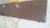 Fotos del anuncio: Puerta hierro 2 hojas con reja