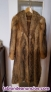 Fotos del anuncio: Vendo abrigo zorro jaspeado talla 42 pelo largo
