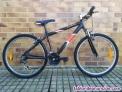 Bicicleta con 27v de aluminio